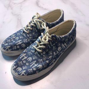 Bucketfeet Elephants Lace Up Shoes